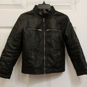 Awesome faux leather jacket